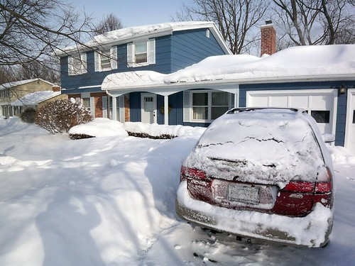 Our House and the snows