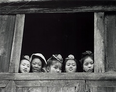 (richard thomson) Tags: china blackandwhite bw festival nikonf100 35mmfilm guizhou miao kaili glassless 10x8 scanofaprint