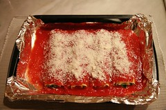 Spinach and Ricotta Canneloni