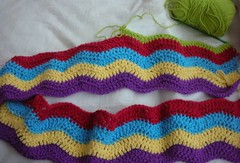 Ripple Afghan for Bradley