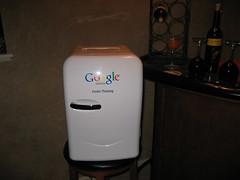 Google Cooler / Fridge - by rustybrick