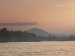 Mekong sunset