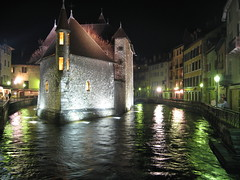 The Old Prison @ Night (Jason's Travel Photography) Tags: france annecy water night river explore take5 supershot 1favorite beautyisintheeyeofthebeholder abigfave flickrgold shieldofexcellence anawesomeshot superbmasterpiece travelerphotos jasonstravel