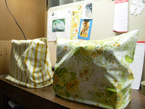Pillowcases=Sewing Maching Covers