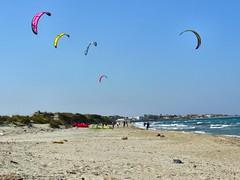 Kitesurf à Torre Chianca