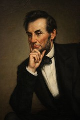 Abraham Lincoln painting (desbah) Tags: painting president abrahamlincoln nationalportraitgallery