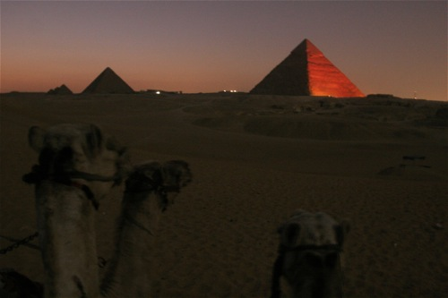 Sunset @ The Pyramids - 22