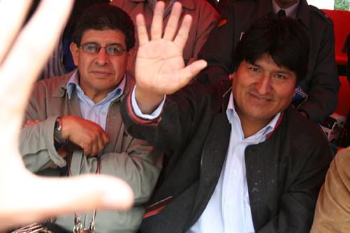 Saludo de Evo Morales
