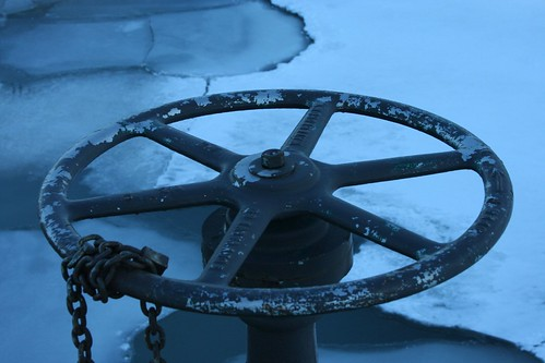 Wheel and ice