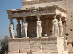 Erechtheum di Acropolis, Athens, Greece