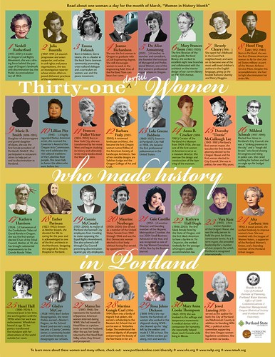 31 women who made history in Portland
