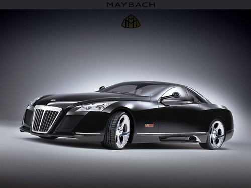 Maybach Exelero Logo. Maybach Exelero 2