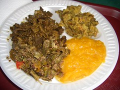 Variety of Trinidadian Dishes