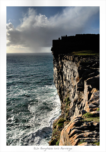 Dun Aengus by the sea