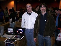 Benway y LordFred en MadriSX 2007