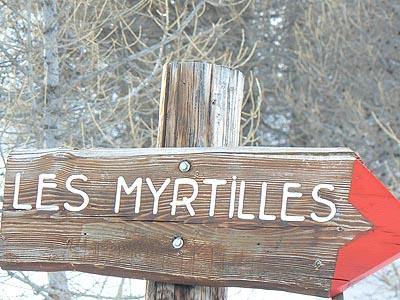 piste les myrtilles