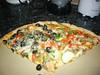 homemade veggie pizza