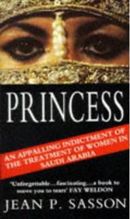 A picture of the book cover of \'Princess\'.