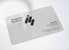 Imaginary Systems. Business Card (Aen Tan) Tags: