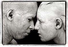 Statues in Profile (Photography.ca - Marko Kulik) Tags: portrait blackandwhite bw clay fineartphotography fivestarsgallery anawesomeshot impressedbeauty diamondclassphotographer flickrdiamond fpggold