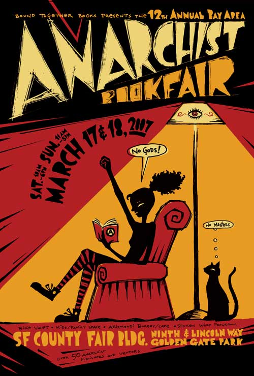 12th Annual Bay Area Anarchist BookFair