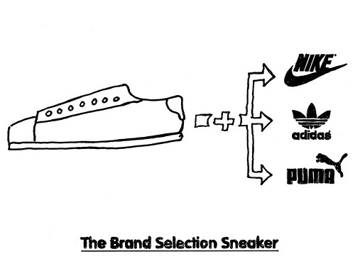 The Brand Selection Sneaker.