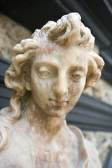 Detail: Figure of St John the Evangelist