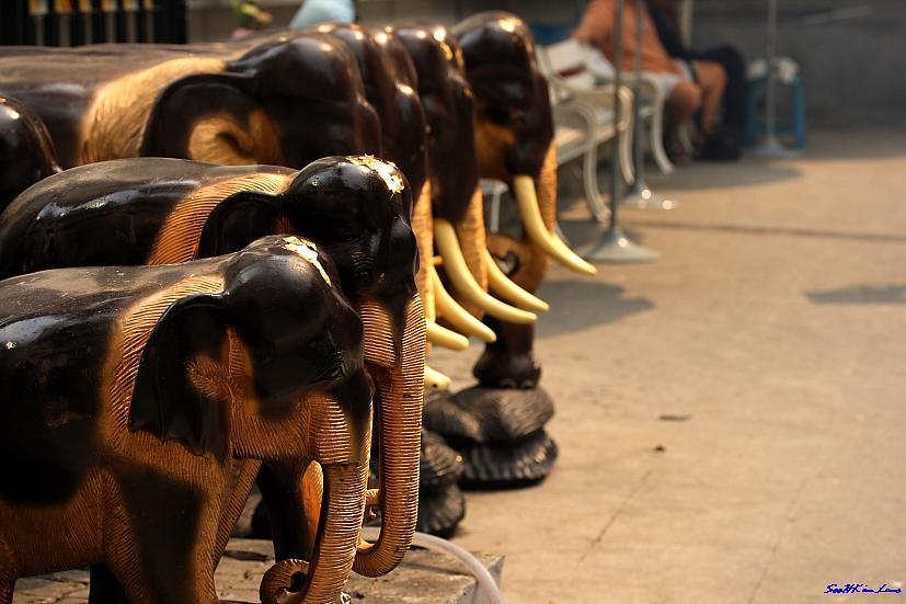 """Elephant"" @ Four Face Buddha,Bangkok Thailand"