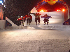 Red Bull Crashed Ice Helsinki 2007 - Final heat - by ZeroOne