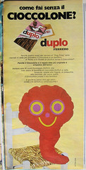 CIOCCOLONE (Zellaby) Tags: advertising chocolate seventies ferrero duplo vintageadvertsing tvsorrisicanzoni ciocolone
