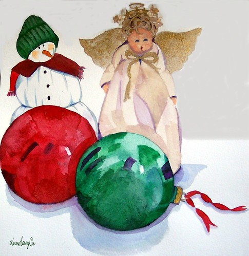 Benjamin's Favorite Ornaments