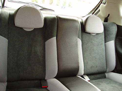 Peugeot 206 Gti Interior. Peugeot 206 GTi 180 rear seats