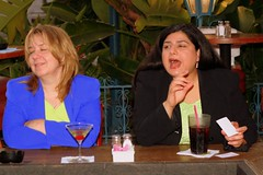 Lynn and Kayleene (FrogMiller) Tags: smile smiling bar fun restaurant smiles straw martini social lynn dietcoke laughter lawyers lawyer happyhour stpatricksday attorney saltandpepper attorneys elranchito avilas kayleene ocbarristers ocbar kayleenewriter