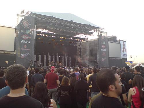 Dubai Desert Rock Festival 2007