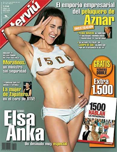 Elsa Anka portada de interviú