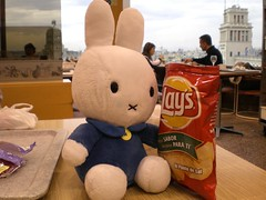 miffy bunny in barcelona (Pinky and the brain!) Tags: lays miffybunny chrisps