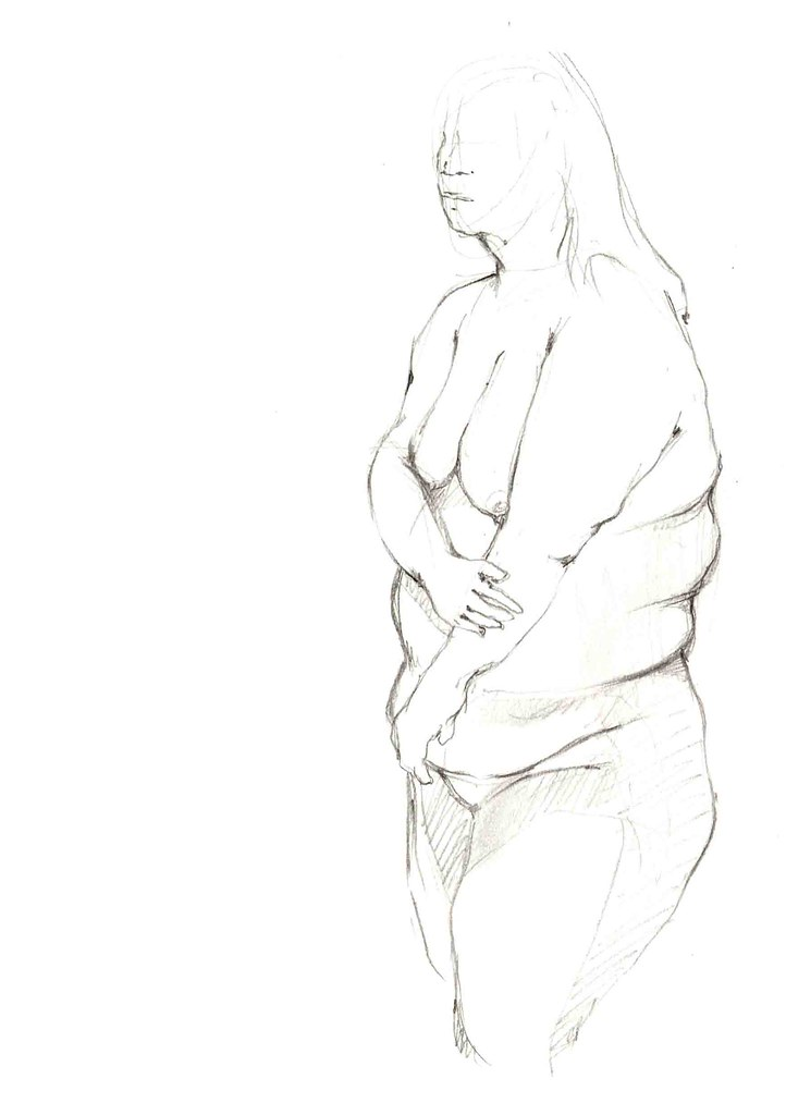 Fat black old lady