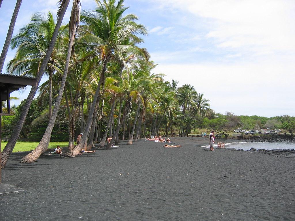 A scenic spot at Punalu'u