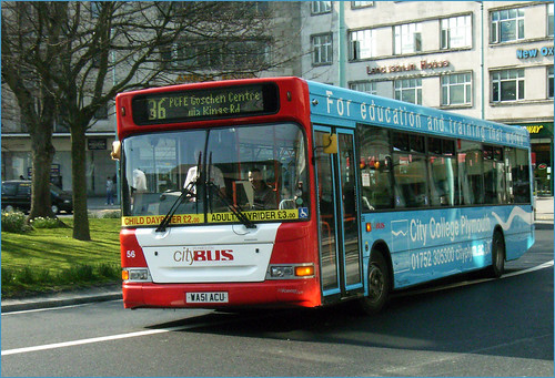 056 WA51ACU Plymouth Citybus