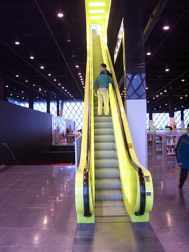 Escalator, Seattle Public Library