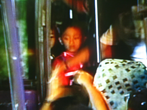 Children Hostage In A Philippine Bus