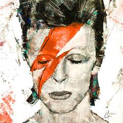 David-Bowie---Ziggy-Stardust (ChristopherClarkArt) Tags: christopherclarkart christopher clark fine art artist paint original oil painting impressionist impressionism david bowie ziggy stardust music rock