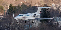 20160104_0137 (HarryMorrowPhotography) Tags: imagescopyrightofharrymorrowtradingasharrymorrowphotogr imagescopyrightofharrymorrowtradingasharrymorrowphotography n309qs netjets embraer phenom 300 seen here port columbus oh very wintery day full snow showers jan 2016