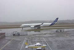 Airbus A350-900 testbed F-WXWB EuroAirport Basel Airport webcam capture (AirportWebcams.net) Tags: airbus a350900 testbed fwxwb euroairport basel airport webcam capture bsl lfsb