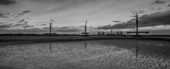 New Mersey Gateway (sammys gallery) Tags: newmerseygateway runcornbridge runcorn widnes wiggisland aerial dji water river mersey sky