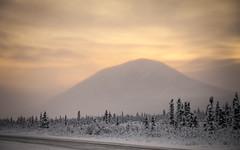 Ice fog sunset (frostnip907) Tags: arctic subarctic alaska sunset ice fog icefog winter snow