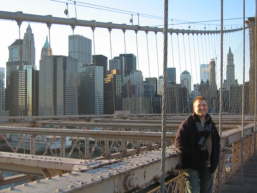 Me on Brooklyn Bridge