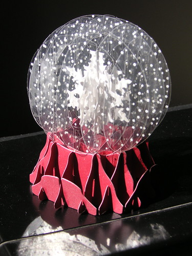Folded snowglobe by blmurch