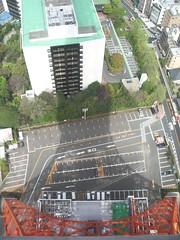 La Tokyo Tower proyectando su sombra