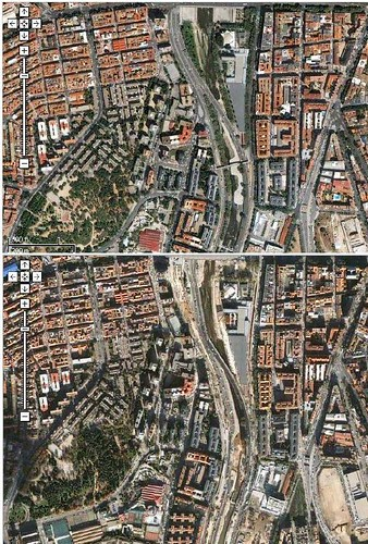 Madrid Antes y despu�s de Gallard�n